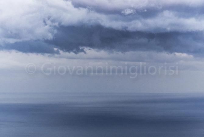 il mare visto dall'Etna